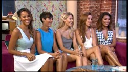 The Saturdays - This Morning 11th August 2014 576p