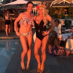 Jessica Simpson Wearing a Swimsuit at a Party - August 11, 2014