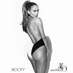 "Jennifer Lopez - ""Booty"" Single Cover"