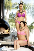 Lisa Ann and Kendra Lust - Jacuzzi Babes x14