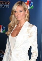 Heidi Klum America's Got Talent Post Show Red Carpet event in NYC 08-13-2014