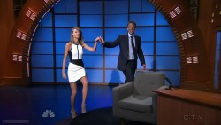 Taylor Swift | Late Night with Seth Meyers | August 14, 2014 | 720p Leggy