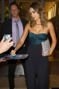 Jessica Alba Is seen outside 'What Happens Live' in Soho, in New York August 13-2014 x90