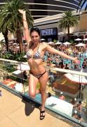 Adrianne Curry Encore Beach Club bikini 10