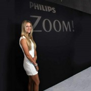 Victoria Azarenka sexy white in Photoshoot Philips ZOOM! x4