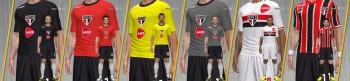 Download São Paulo F.C Kits 14-15 - PES 2013 by Manabu10