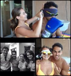 Alexa Vega Boxing - 8/16/14