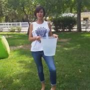 Catherine Bell - ALS Ice bucket challenge 19.8.2014