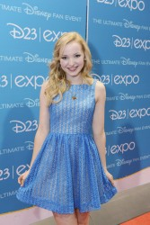 Dove Cameron at the 2013 Disney D23 Expo held at the Anaheim Convention Center 8/10/13