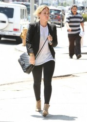 Hilary Duff - Out & About in West Hollywood 8/20/14