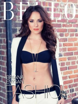 Briana Evigan - Bello Magazine July 2014 *Tummy*