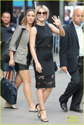 Julianne Hough - Arriving at 'Good Morning America' in NYC 8/21/14