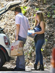 Jennette McCurdy - Out in Studio City 8/21/14