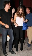 Kate Beckinsale Seen leaving Largo with husband and Michelle Trachtenberg in LA August 21-2014 x12