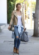 Hilary Duff - Out in West Hollywood 8/22/14