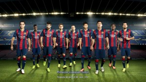 Download PES 2014 PC Start Screen FCB 14-15 by Secun1972