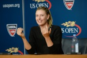 Maria Sharapova @ Press conference preview for the 2014 US Open August 23-2014 x13