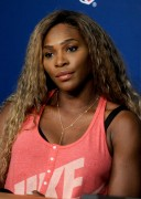 Serena Williams Talks to the media during previews for the US Open tennis August 23-2014 x16