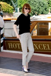 Emma Stone Out In Venice 08-28-2014