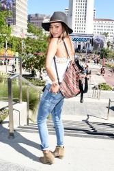 bf1b5d348525661 Jamie Chung at the 2014 Budweiser Made in America Festival in Los Angeles   August 30, 2014   24 HQ candids