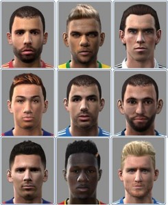 Download PES 2010 Face Pack by AER47