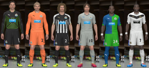 Download Newcastle United 2014-2015 GDB by Santy Argentina For PES 2014