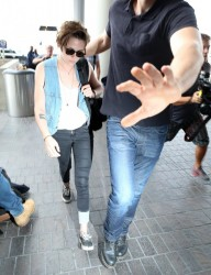 Kristen Stewart - At LAX Airport 9/3/14