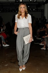 Katie Cassidy - Houghton Spring 2015 Fashion Show in NYC 9/4/14