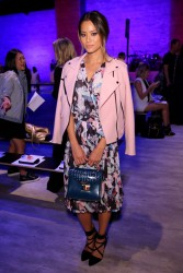 Jamie Chung - Rebecca Minkoff Spring 2015 Fashion Show in NYC 9/5/14