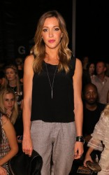 Katie Cassidy - Nicole Miller Spring 2015 Fashion Show in NYC 9/5/14