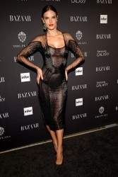 Alessandra Ambrosio - Harper's Bazaar Celebrates ICONS by Carine Roitfeld event in NYC 9/5/14