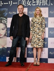Lea Seydoux Beauty & The Beast Tokyo Press Conference 09-04-2014