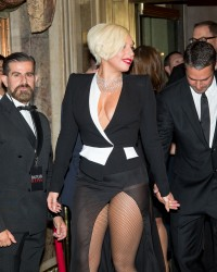 Lady Gaga at the HARPERS BAZAAR Celebrate ICONS September 6,