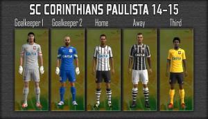 Download SC Corinthians Paulista 14-15 GDB by mikue-das For PES 2013