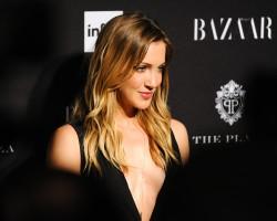 Katie Cassidy Harpers Bazaar Celebrates Icons 09-05-2014