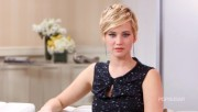 "Jennifer Lawrence - Two leggy ""The Hunger Games: Catching Fire"" Interviews 2013"