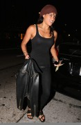 Michelle Rodriguez Arrives at Madeo Restaurant for dinner in West Hollywood September 8-2014 x11