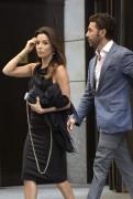 Eva Longoria exits the Four Seasons Hotel in NYC September 8-2014 x17