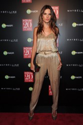Alessandra Ambrosio - InStyle 20th Anniversary Party in NYC 9/8/14