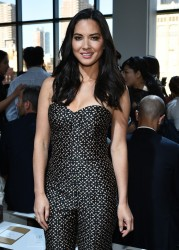 Olivia Munn - Michael Kors Spring 2015 Fashion Show in NYC 9/10/14