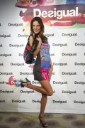 Alessandra Ambrosio - Desigual Cibeles 2014 Fashion Show in Madrid 9/11/14