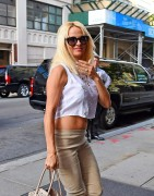 Pamela Anderson - Out and About at SoHo in New York - September 10-2014 x7