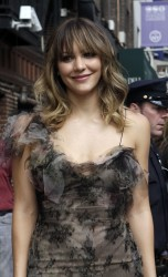 Katharine McPhee @ the late show With David Letterman 09-10-2014