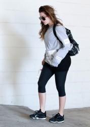 Khloe Kardashian - Going to the gym in LA 9/12/14