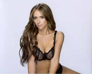 Jennifer Love Hewitt in Her Underwear - The Client List Photoshoot