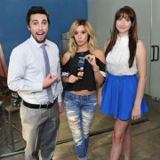 Ashley Tisdale - Lindt Chocolate USA Studios 2014