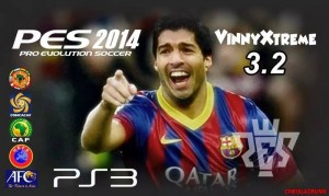 PES 2014 PS3 Option File Update