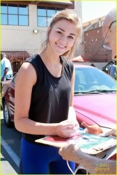 Sadie Robertson at Dancing With The Stars Practice in Los Angeles - September 13, 2014