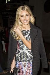 Mollie King NEXT Model Management London Fashion Week Dinner 09-13-2014