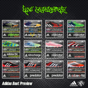 Download Adidas Boot PES 2013 Preview by RM_Fanaticz